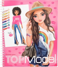 10203 a , Topmodel create your drawing book