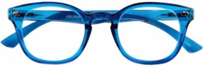G16300 3.0 , Leesbril lollipop blauw 3.00