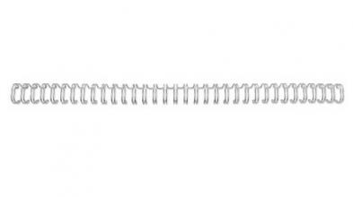 , Draadrug GBC 5mm 34-rings A4 zilver 100stuks