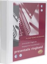 , Presentatieringband Multo A4 23-rings O-mech 32mm wit