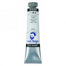 , Talens van gogh olieverf tube 20 ml titaanwit 105