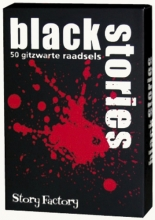 Stf-bs 1 , Black  stories deel 1  gitzwarte raadsels