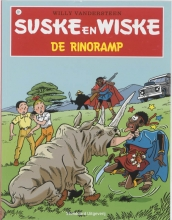 Willy  Vandersteen Suske en Wiske 221 De rinoramp