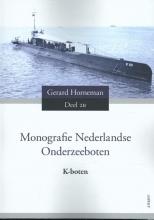 Gerard Horneman , Monografie Nederlandse Onderzeeboten Deel 2B K-boten