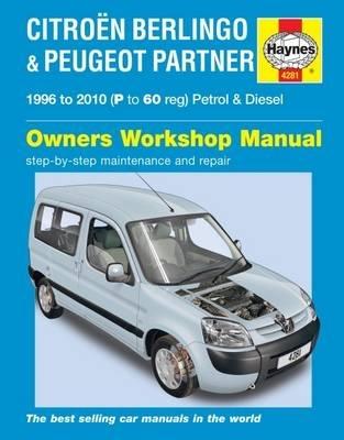 Haynes Publishing,Citroen Berlingo & Peugeot Partner