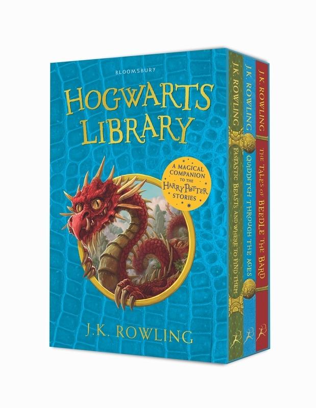 J.K. Rowling,Hogwarts Library Box Set