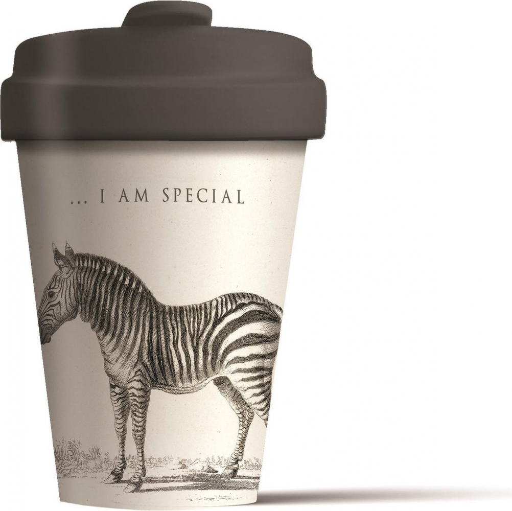 Bcp265,Bamboocup special zebra