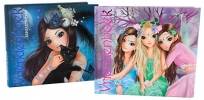, Fantasy model vriendenboek assorti