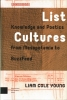 Liam  Cole Young , List Cultures
