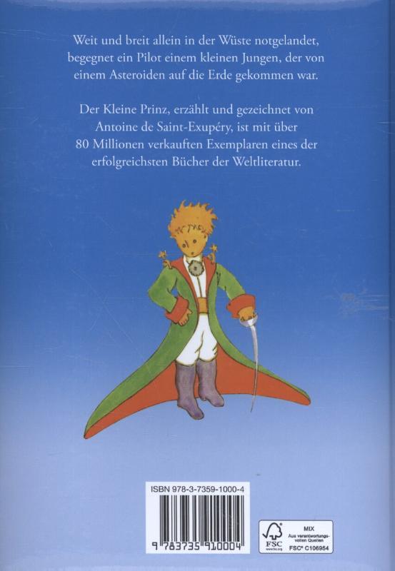 Saint-Exupéry, Antoine de,Der Kleine Prinz