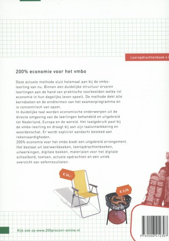 Ilse Ouwens, Paul Scholte,Economie 4b Leerwerkboek