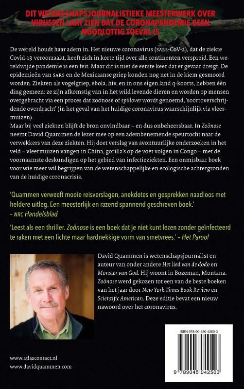 David Quammen,Zoönose