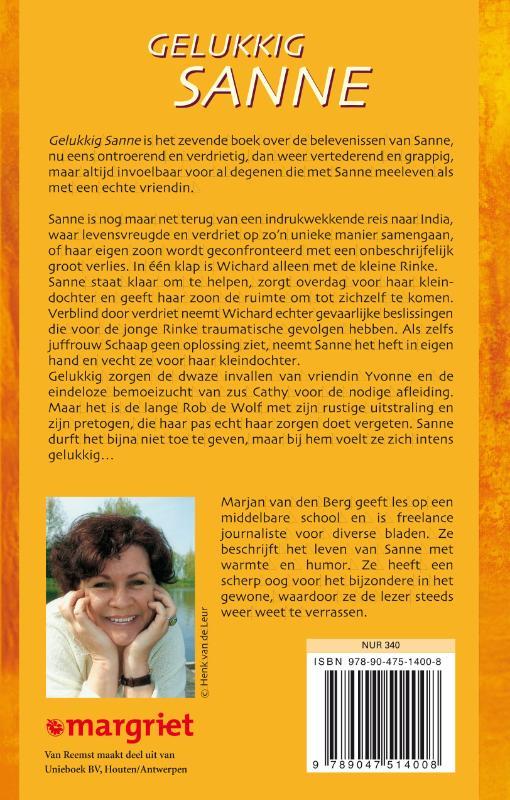 Marjan van den Berg,Gelukkig Sanne