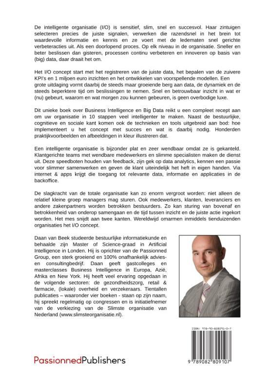 Daan van Beek,De Intelligente Organisatie