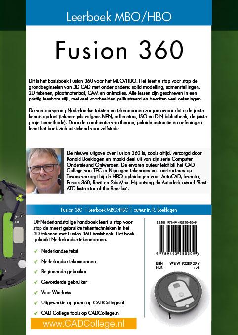 Ronald Boeklagen,Fusion 360 mbo/hbo Leerboek