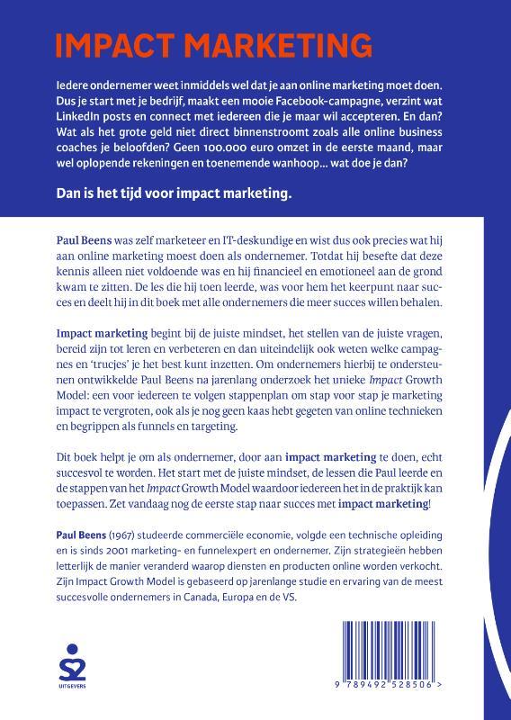 Paul Beens,Impact marketing