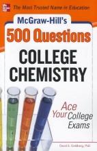 Goldberg, David E. McGraw-Hill`s 500 College Chemistry Questions