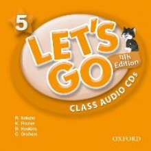 Let`s Go 5. 4th edition. Class Audio CDs