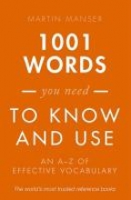 Manser, Martin 1001 Words You Need To Know and Use