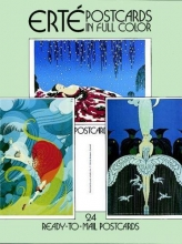 Erte Erte Postcards in Full Color