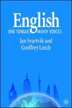 Jan Svartvik,   Geoffrey Leech English - One Tongue, Many Voices