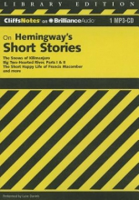 Roberts, James L., Ph.D. CliffsNotes on Hemingway`s Short Stories