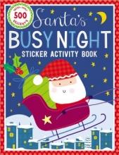 Make Believe Ideas Ltd Sticker Activity Books Santa`s Busy Night Bind Up