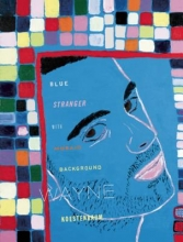 Koestenbaum, Wayne Blue Stranger with Mosaic Background