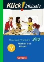 Jenert, Elisabeth,   Kühne, Petra Klick! inklusiv 9./10. Schuljahr - Arbeitsheft 5 - Flächen und Körper