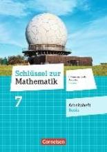 Schlüssel zur Mathematik 7. Schuljahr - Differenzierende Ausgabe Hessen - Arbeitsheft Basis mit eingelegten Lösungen