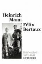 Mann, Heinrich Briefwechsel 1922 - 1948