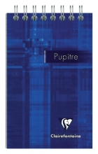 , Notitieboek Clairefontaine Puptire 75x120mm spiraal lijn