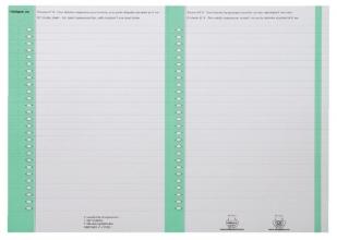 , Ruiterstrook Elba Nr 8 138x6mm lateraal groen