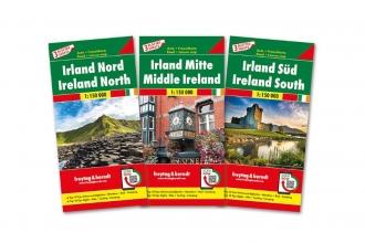 , F&B Ierland 3-kaartenset