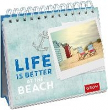 Spiralaufsteller - Life is better at the beach