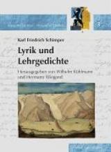 Schimper, Karl Friedrich Karl Friedrich Schimper (1803-1867) - Lyrik und Lehrgedichte