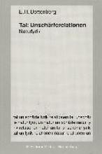 Bottenberg, Ernst H. Tal: Unschrferelationen