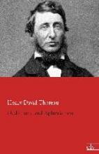 Thoreau, Henry David Gedanken und Aphorismen