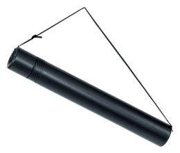 , Tekeningkoker Linex zoom 50-90cm doorsnee 6cm zwart