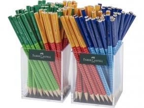 , Potlood Grip 2001 2 kokers a 72 stuks in 3 kleuren