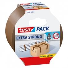 , Verpakkingstape Tesa 05050 extra strong 50mmx66m bruin