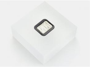 , Verftablet 30x22mm Premium Metallic Silver Finetec