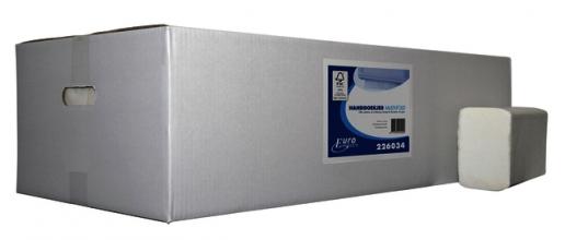 , Handdoek Euro M-vouw 2L 32x21cm 3000st