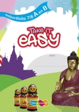 Alda  Bakker, Ankie  Mantel, Take it easy - Taalportfolio A en B (set a 5 ex)