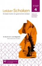 Cor van Wijgerden Rob van Brunia, Lekker schaken stap 4