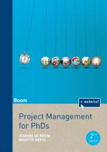 Brigitte Hertz Jeanine de Bruin, Project Management for PhD's