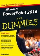 Doug  Lowe Microsoft Powerpoint 2016 voor Dummies