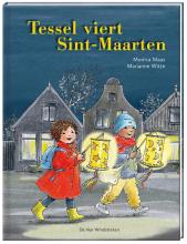 Marianne  Witte Tessel viert Sint-Maarten