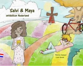Mariem  Aameyri Salvi en Maya ontdekken Nederland