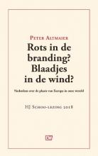 Peter Altmaier , Rots in de branding? Blaadjes in de wind?